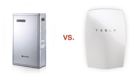 tesla powerwall vs lg chem resu solar batteries