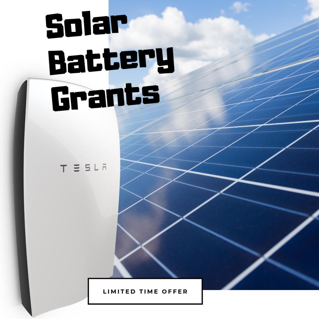 Queensland Solar Battery Grants tesla battery